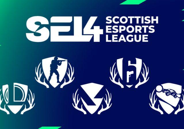Scottish Esports League 4 (SEL4) grand finals poster