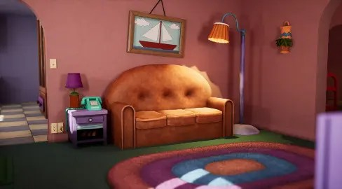 the simpsons Ray Tracing