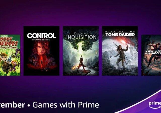 prime gaming November