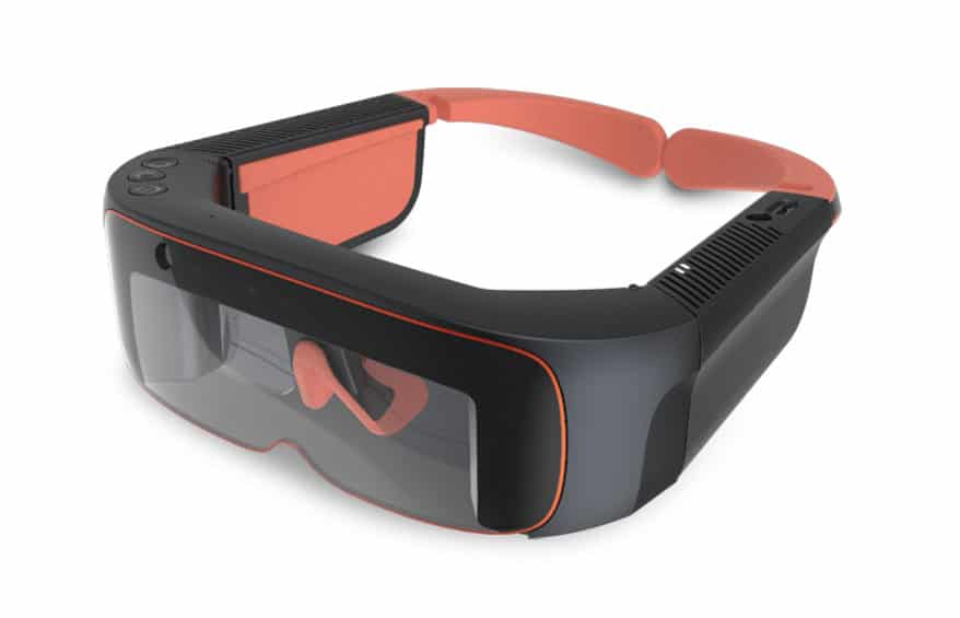 Third Eye mixed reality and augmented reality glasses.