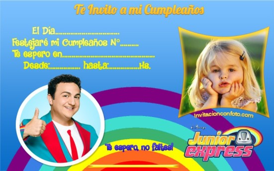 Invitaciones de Cumpleaños de TOPA