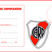 Invitaciones de Cumpleanos con Foto, Boca, River, Racing, Independiente, Barca Fc, Real Madrid, y mas