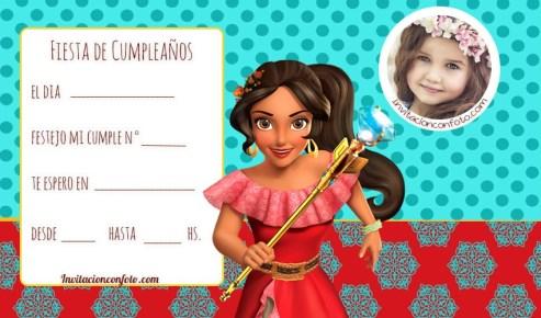 invitaciones infantiles con foto para editar gratis