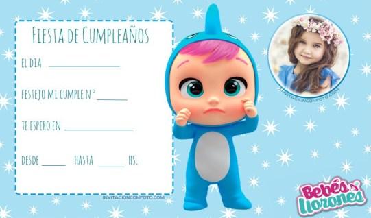 tarjetas de cumpleanos infantiles con foto editar gratis