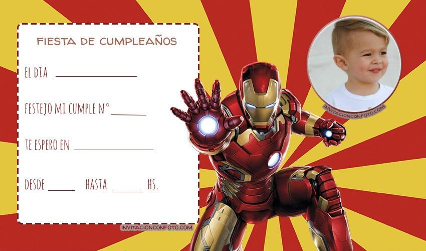 Avengers Convite