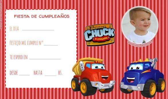 Invitaciones de Cumpleanos infantiles para editar con foto gratis
