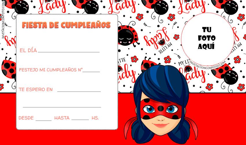 Tarjetas Ladybug