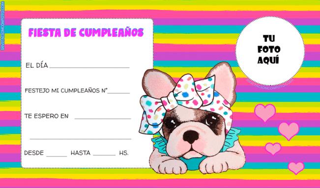 Editar Invitaciones de Cumpleaños Con foto