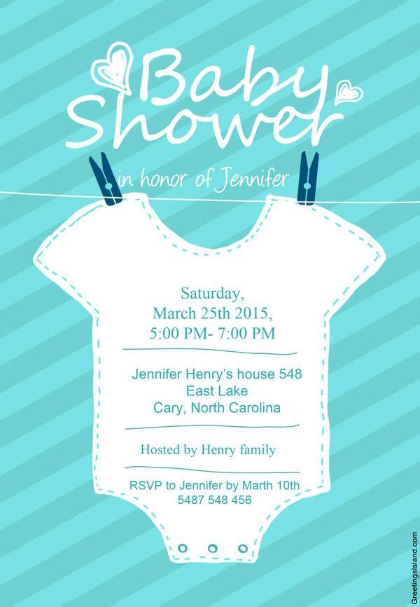 Frases Para Baby Shower Niño Invitaciones Free Printable