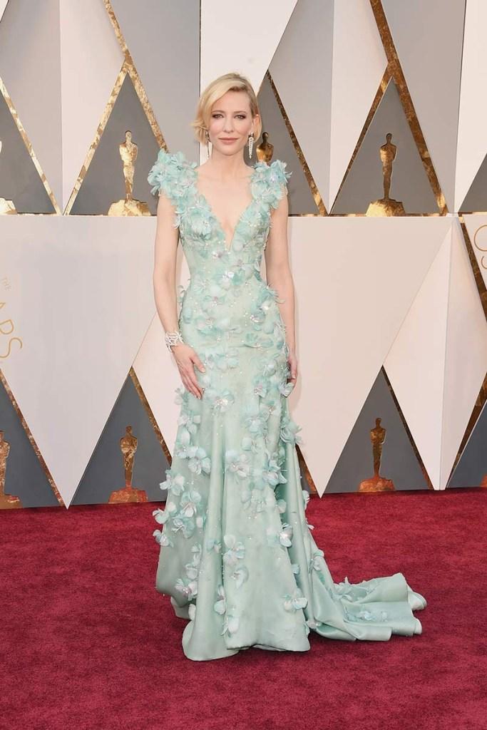Alfombra roja Oscars 2016 Cate Blanchett