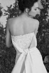 Carolina Herrera Novias Primavera 2017 modelo Ansel 2 B&N