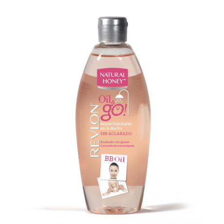 Aceite Hidratante en la ducha Oil&Go de Natural Honey