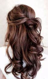 Peinados De Pelo Suelto Para Novias E Invitadas Invitada Perfecta