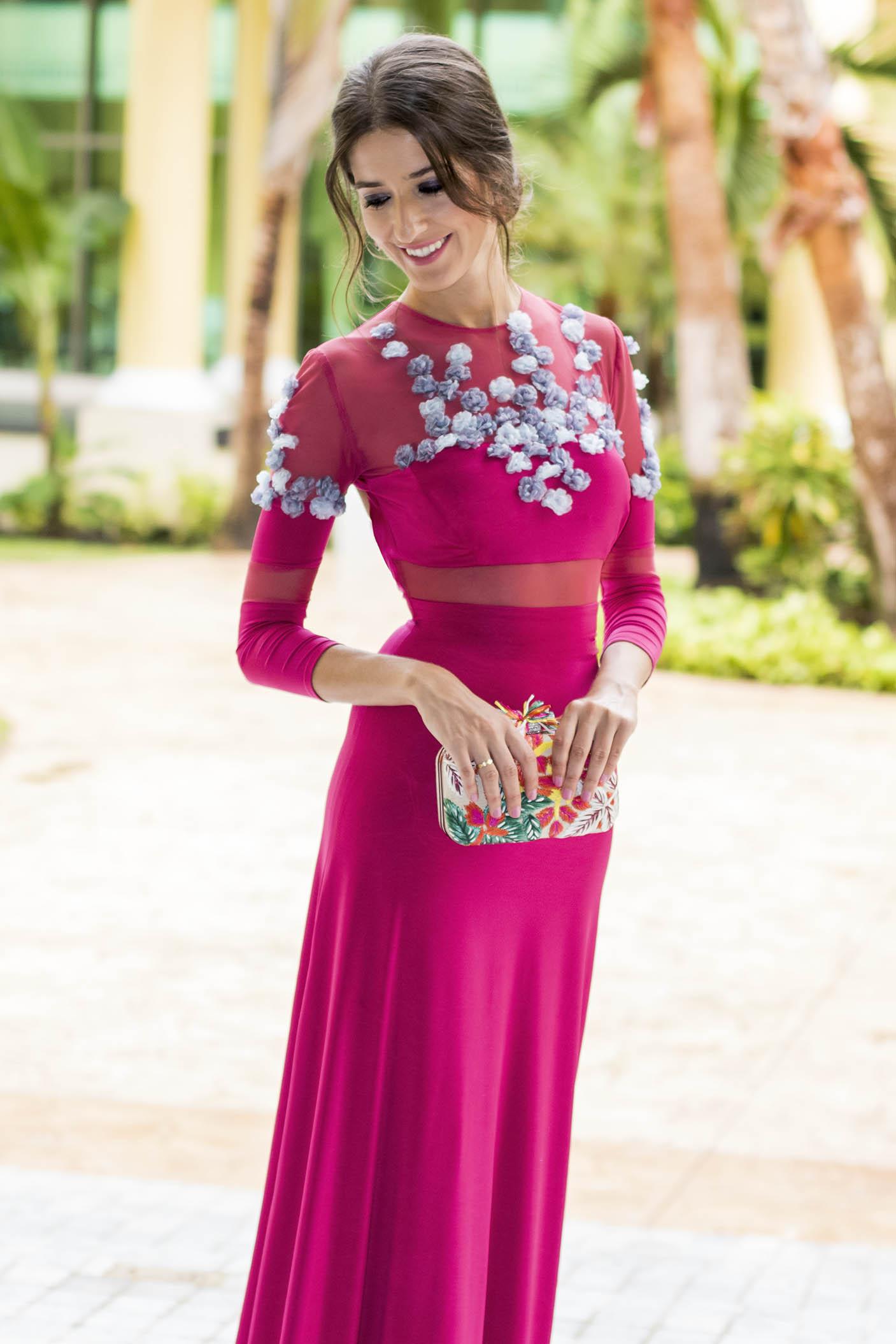 Bonito Vestidos Invitado A La Boda Roja Imagen - Colección de ...