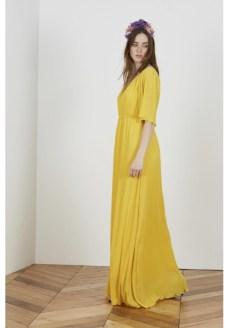 Vestido amarillo invitada boda lowcost