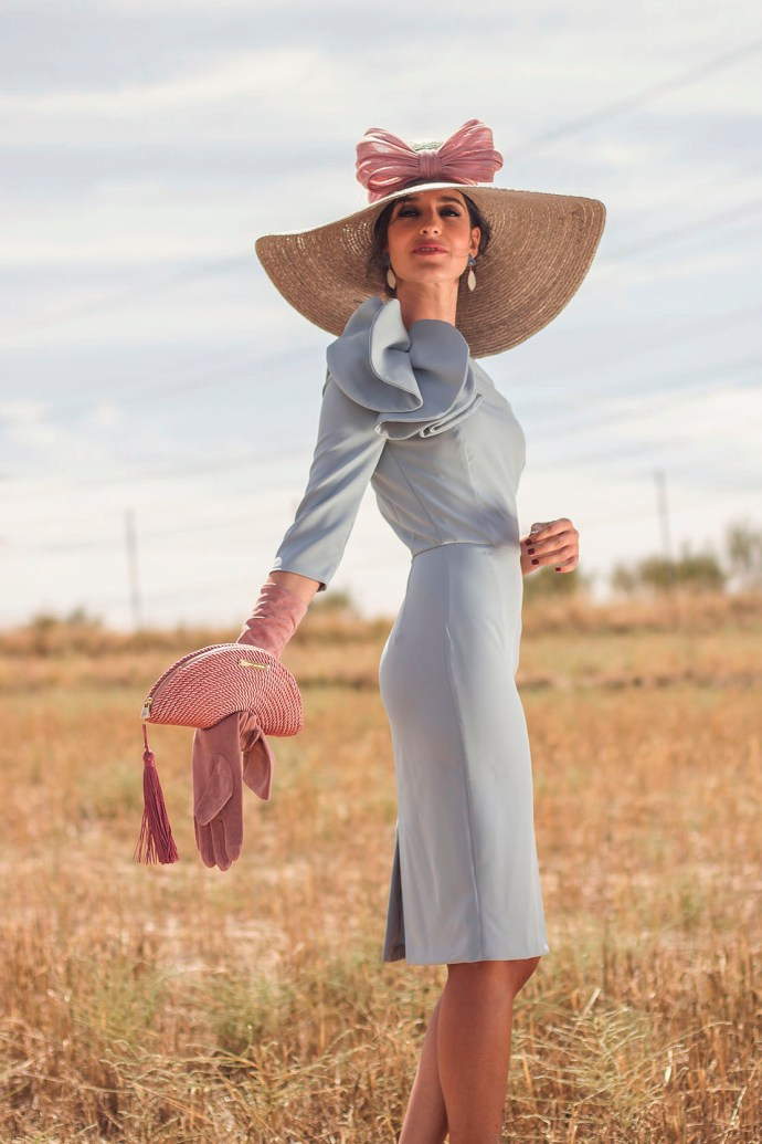 9d335d142 ook invitada de mañana: el vestido azul serenity | Invitada Perfecta