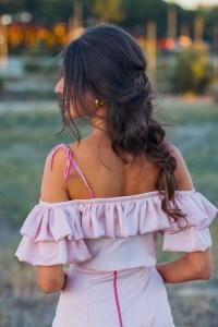 Trenza desecha novias invitadas boda Invitada Perfecta peinados