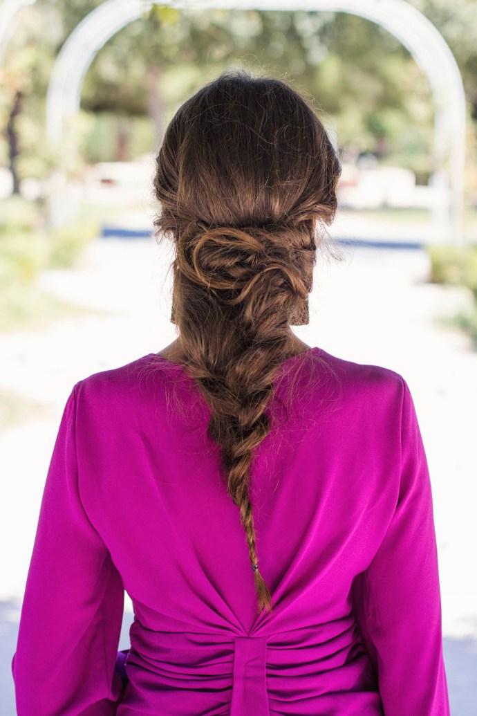 peinado trenza novia invitada perfecta