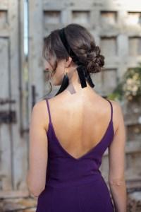 Peinado Invitada novia trenzado cinta diadema