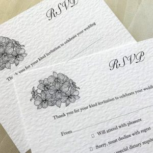 Lily RSVP Postcards