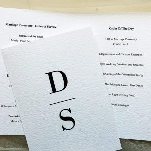 Simplicity Order of Service Books