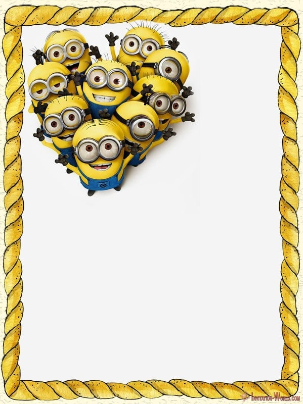 minion invitations the best of 2018