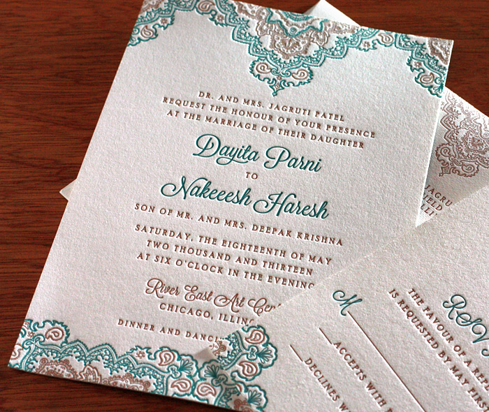 Designer Wedding Invitations Cards Indian