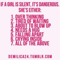 A silent Girl!