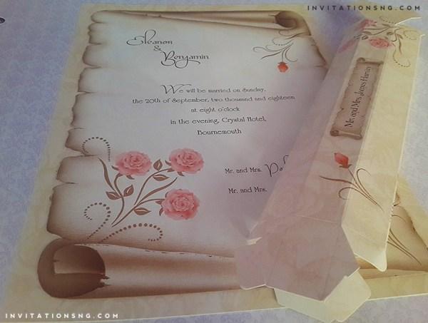 Erdem kristal Invitation 60245_2