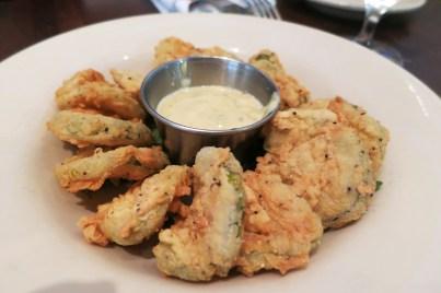 Fried pickles, Charleston, SC