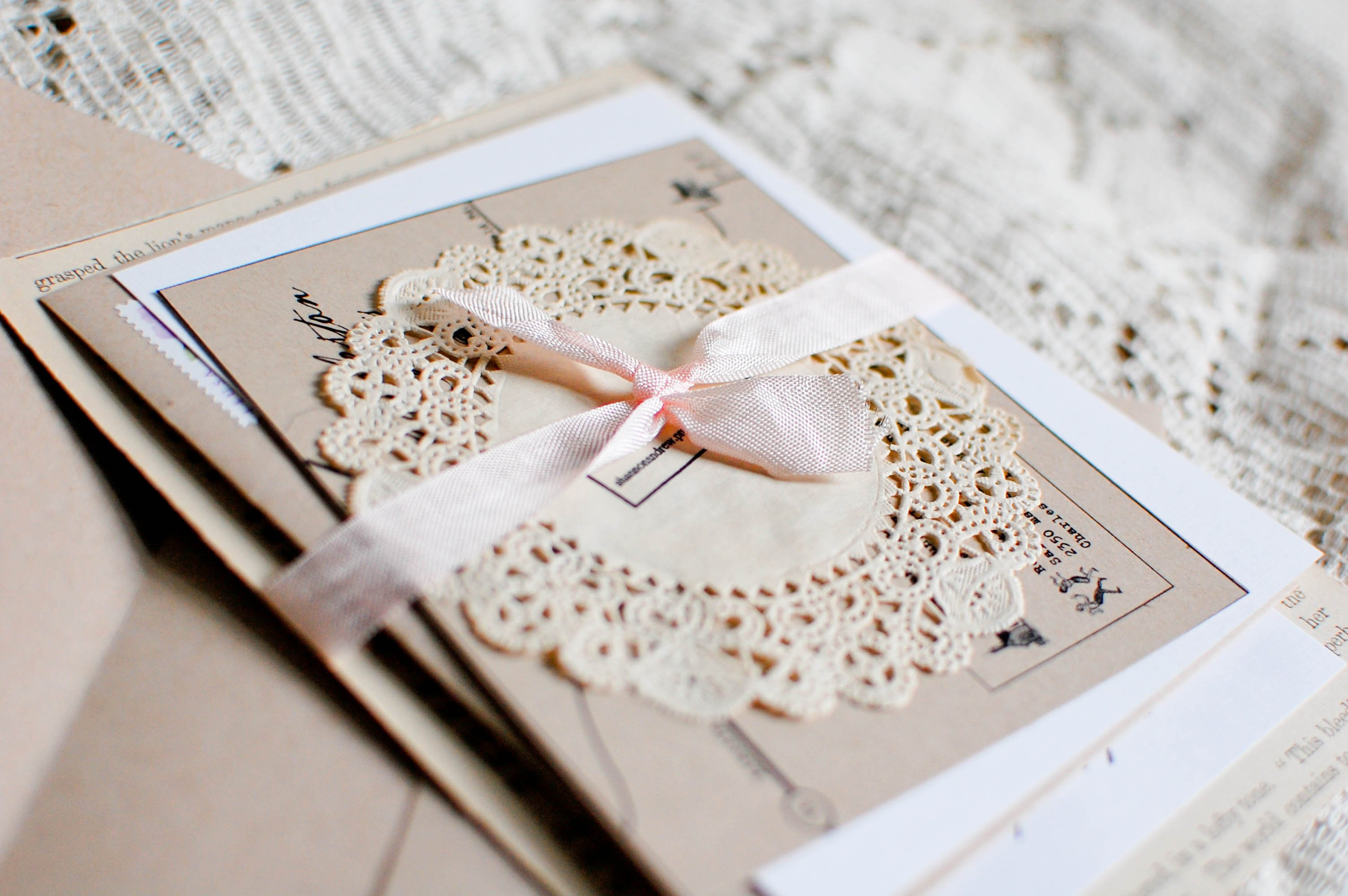 Homemade Wedding Invitations Ideas
