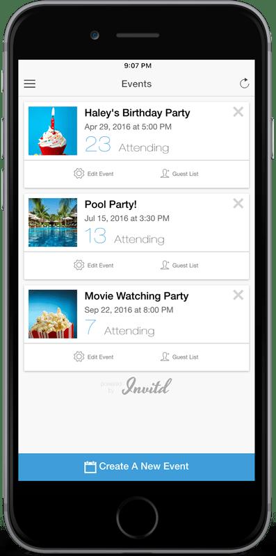 Invitation App - Invitd