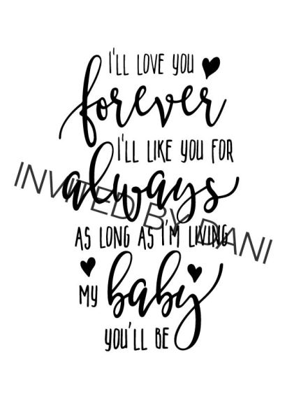 My Baby You'll Be (Script)