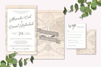 Old World Invitation