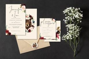 Woodland Fall Wedding