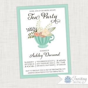 Mint Tea Cup_invite