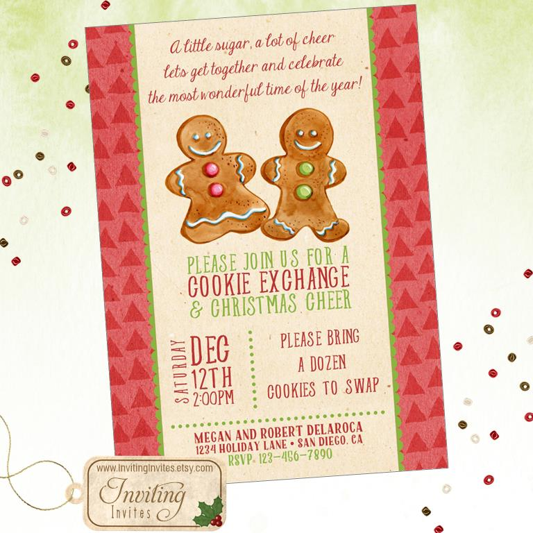 2015 Christmas Party Invitations