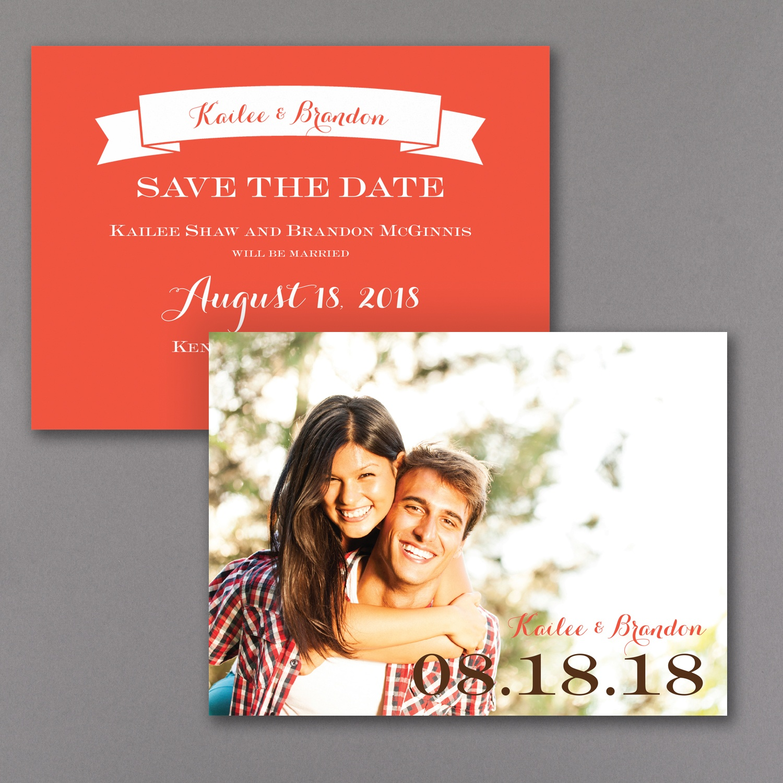 Big Date – Photo Save the Date Card