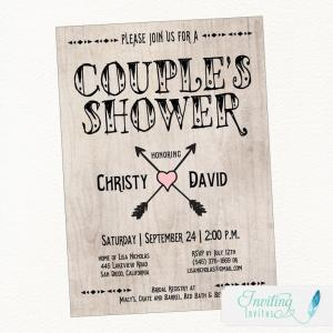 Tribal Couples Shower