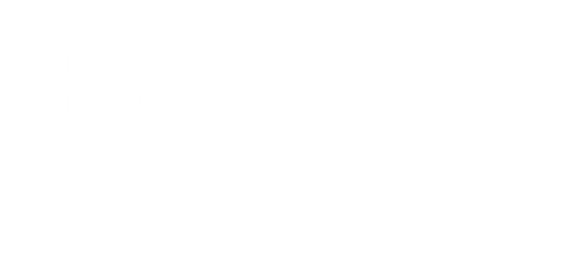 In Vivo Patent Law