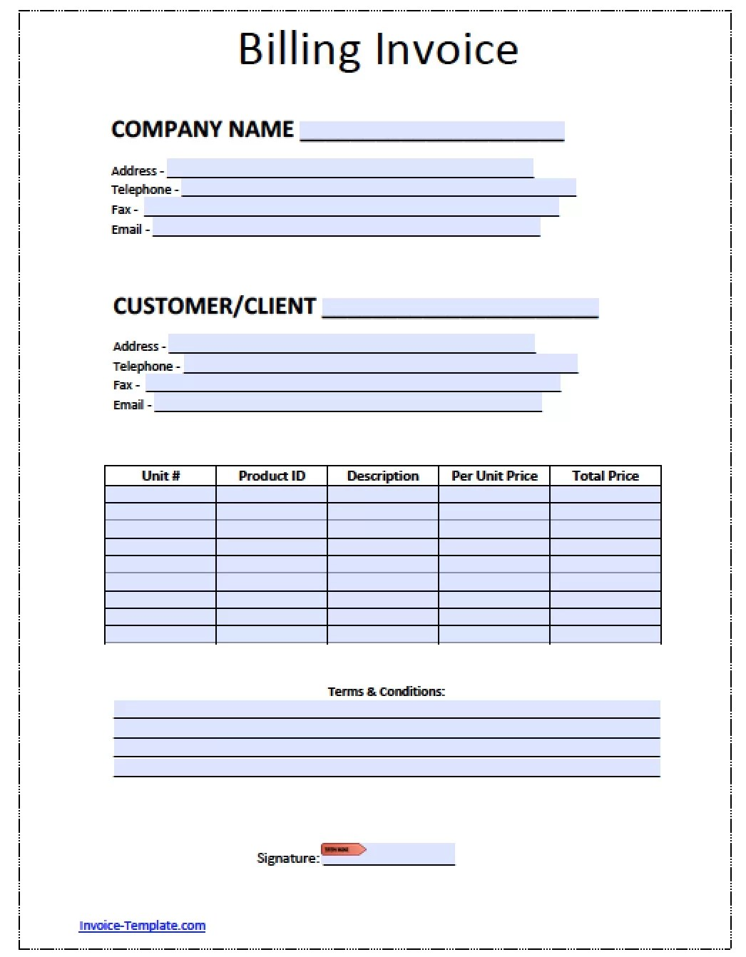 free invoice templates for word excel open office invoiceberry – Invoice Template Word Free