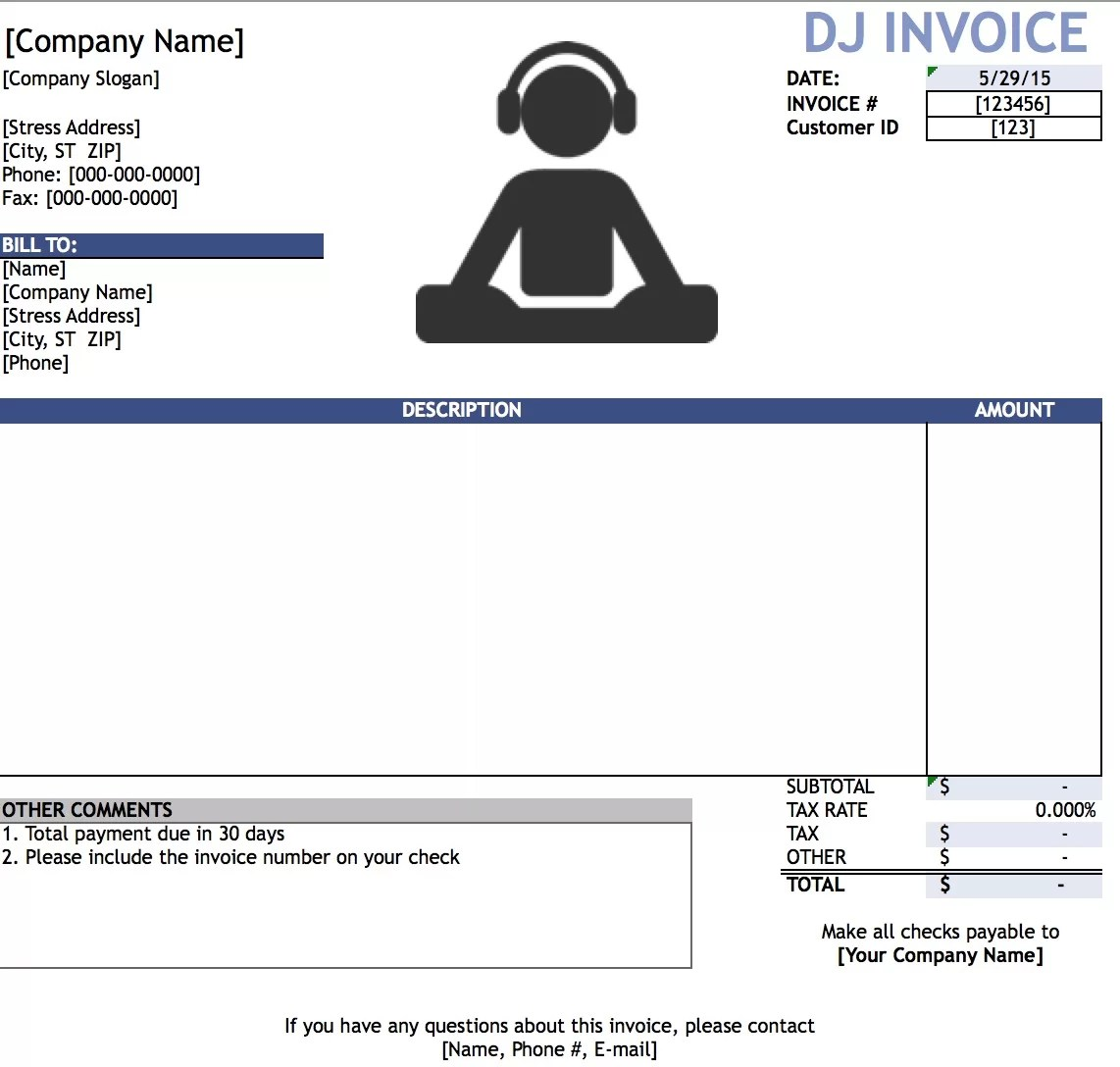 invoice template for mac – residers, Invoice templates