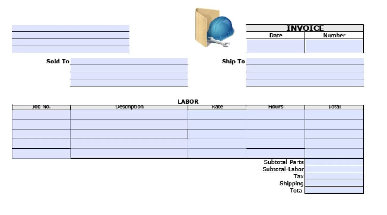 daycare receipt template 12 free word excel pdf format download, Invoice templates