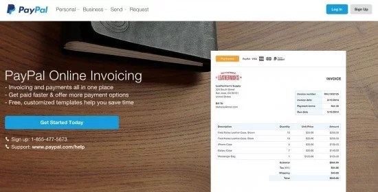 PayPal Invoice Template   How to Write paypal online invoicing webpage