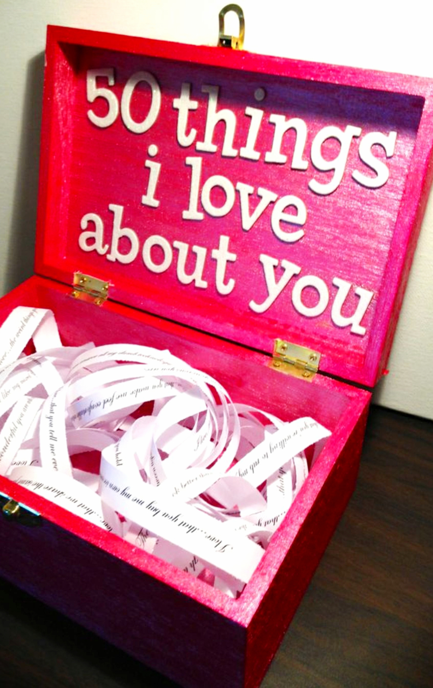 26 Homemade Valentine Gift Ideas For Him DIY Gifts He