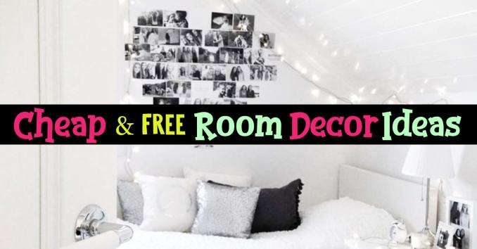 How To Decorate Your Room WITHOUT Buying Anything ...