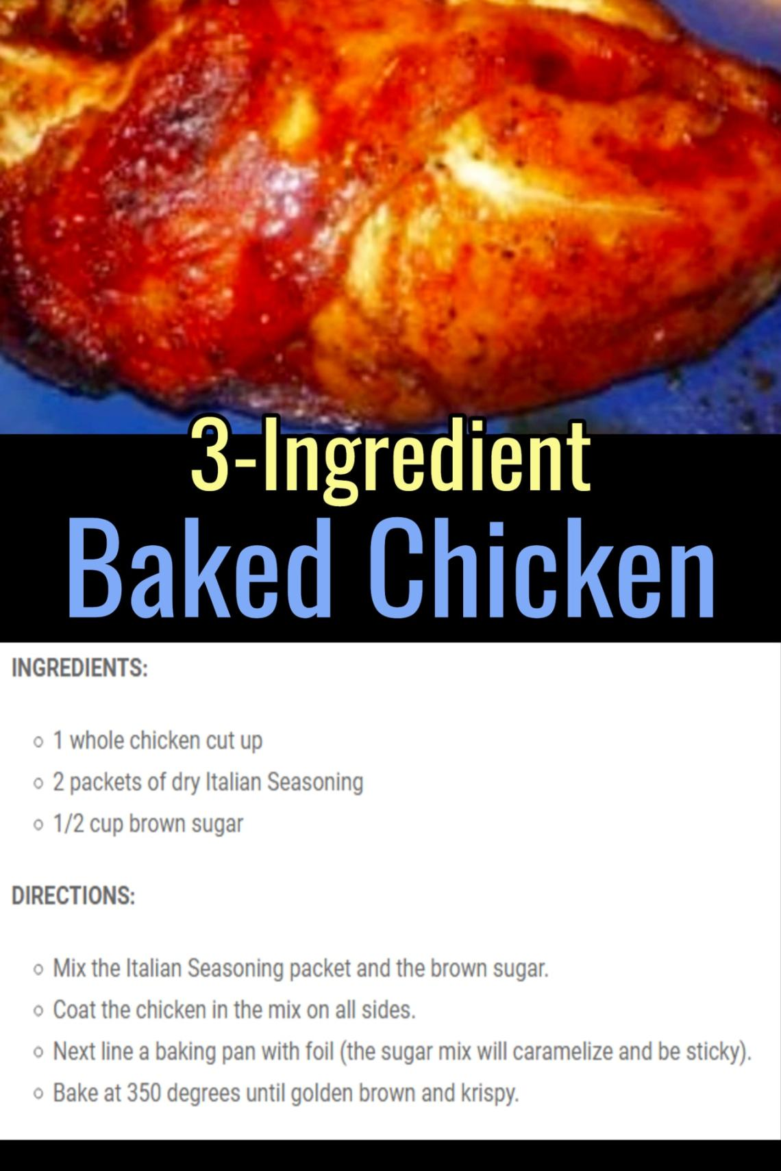Easy Recipes with Few Ingredients - My Family's Favorite ...