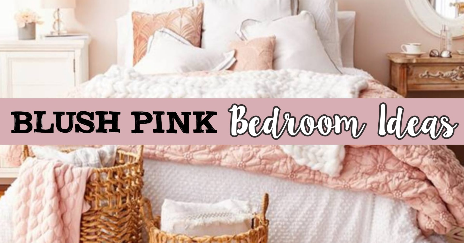 Blush Pink Bedroom Ideas Dusty Rose Bedroom Decor And Bedding I Love Clever Diy Ideas