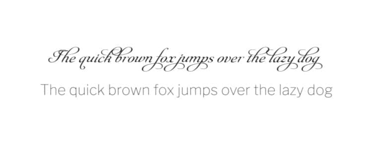 font style examples