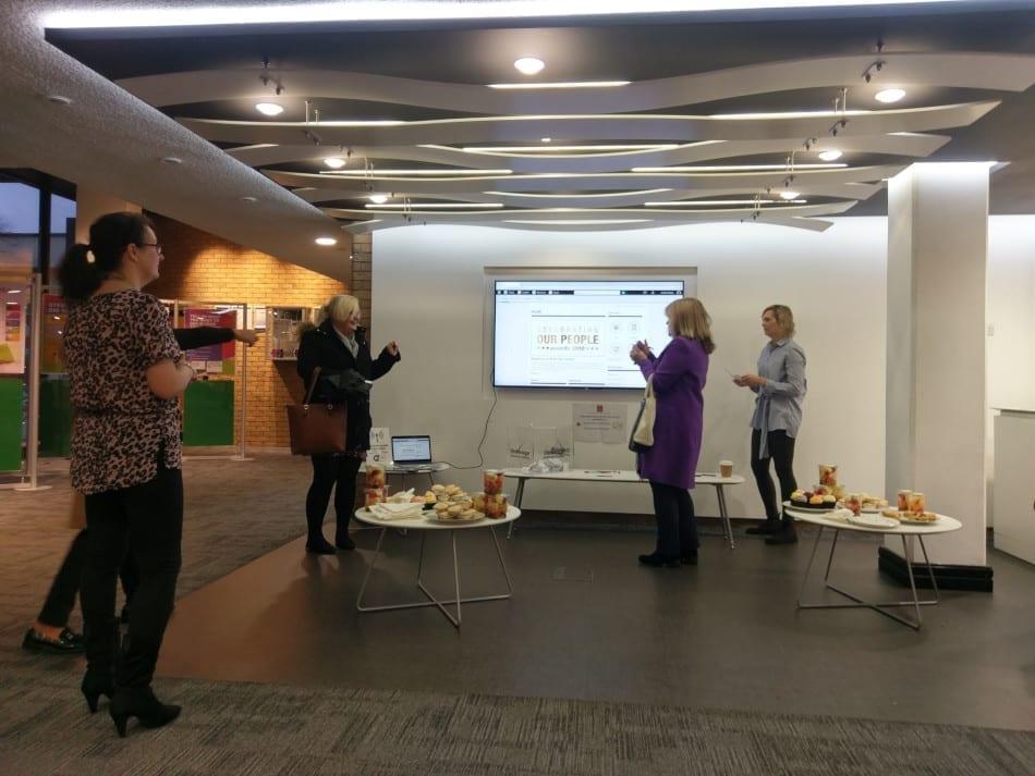 Stevenage intranet launch